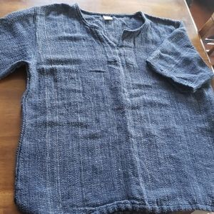 Other - Natural weave shirt